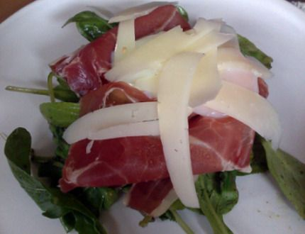 recette salade minceur ibérique