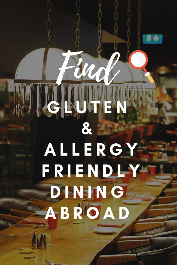 food allergies mobile application