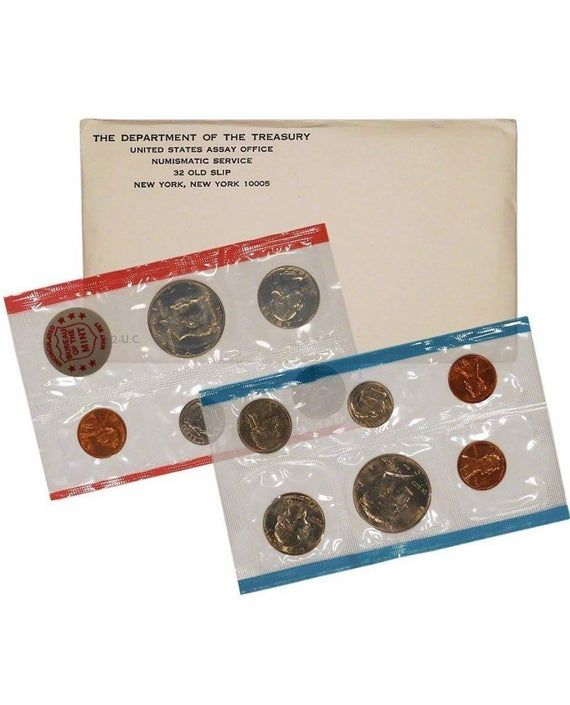 1981 P/&D US Mint Set 13 Coins with No Envelope Special Price