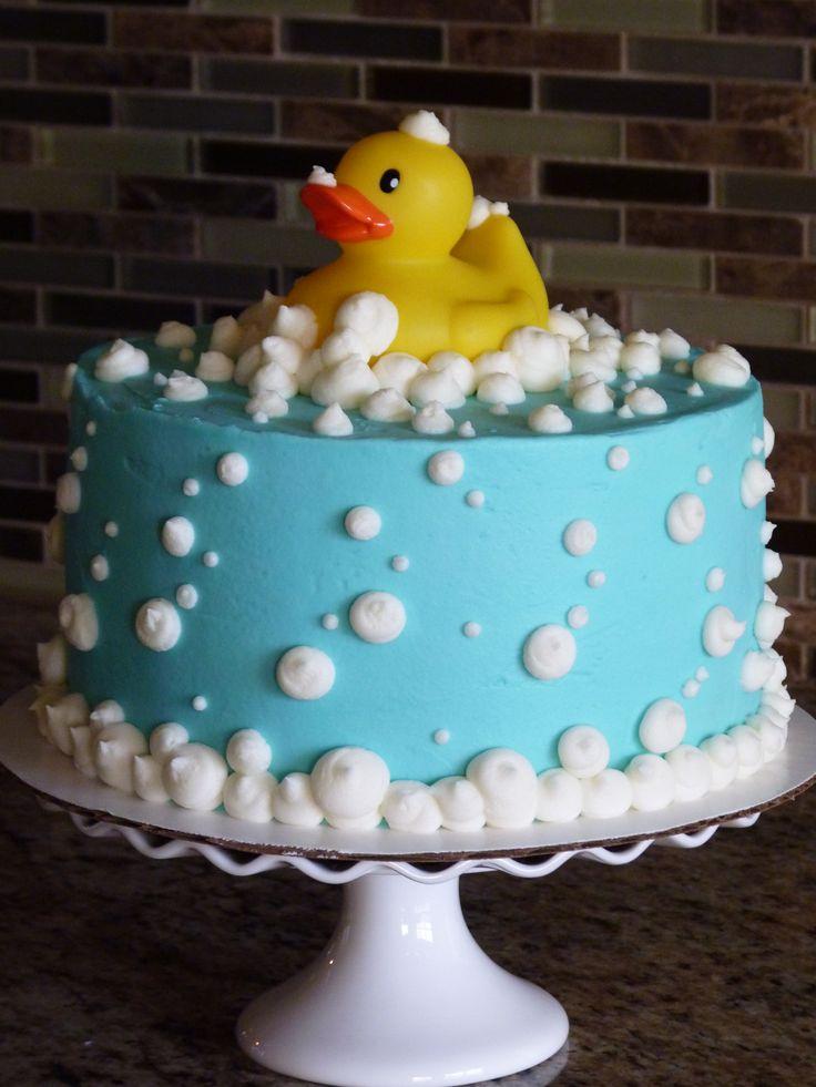 Rubber Ducky cake #mimissweetcakesnbakes #rubberduckycake #babyshower