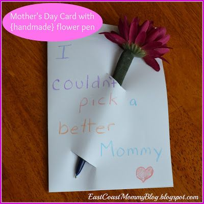 {Simple} Mothers Day Card