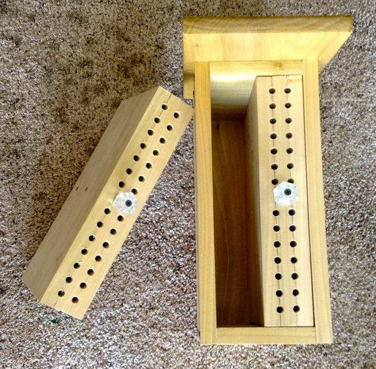 Mason Bee House With Removable Inserts