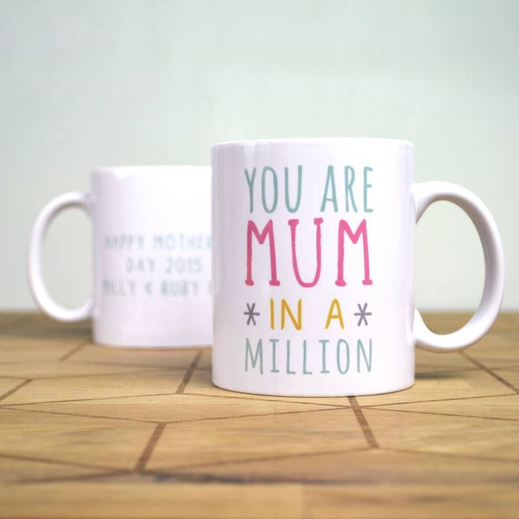 Personalised One In A Million Mothers Day Mug
