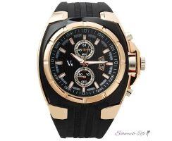 Armbanduhr Black Star Sport  schwarz Rosegold