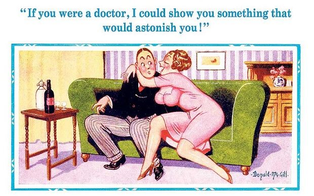 Saucy seaside postcards are soaring in value!
