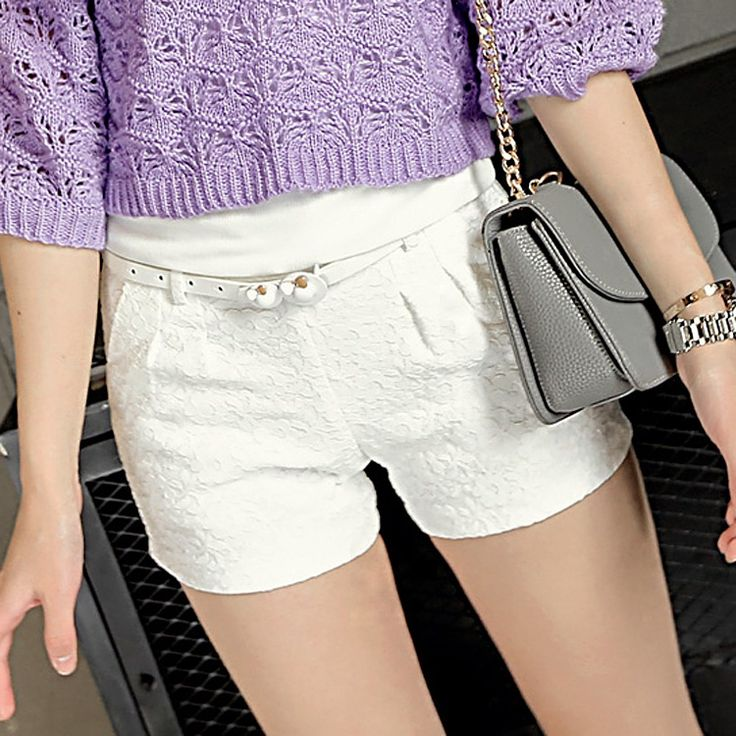 2015 summer women was thin waist shorts casual pants lace shorts USD1600