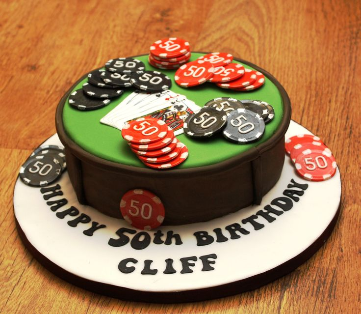 poker cakes ideas | Poker Cake 04