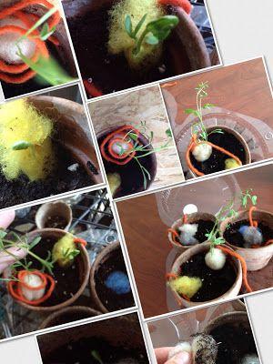 seeds bomb - bombe di semi di lana - #feltro #felt