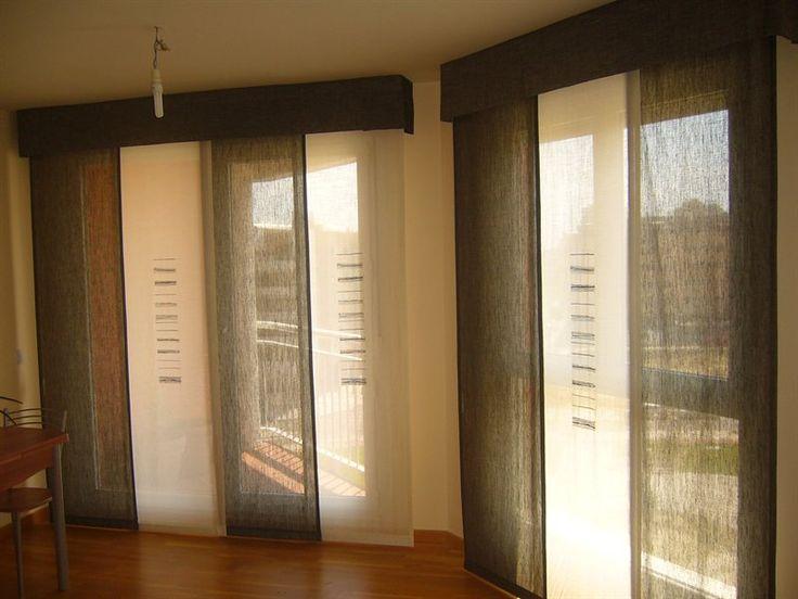 Paneles japoneses per cortinas japonesas cortinas - Cortinas estilo japones ...