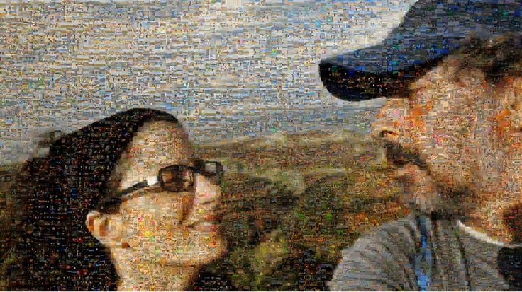 Imagen reconstruída a partir de 10.000 fotos tomadas durante nuestro viaje, sin ninguna alteración y sin repetir ninguna imagen.   Más info http://www.devueltaalmundo.info