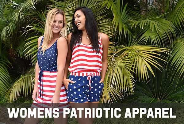 Featured Womens Patriotic Clothing
