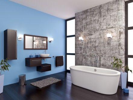 Die besten 25+ blaubraunes Badezimmer Ideen auf Pinterest Blau - bad blau braun