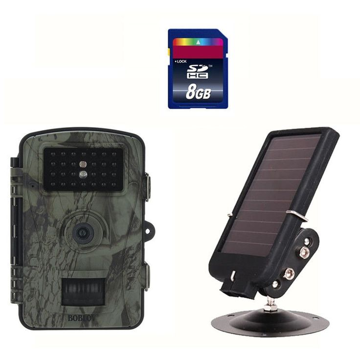 "108.91$  Watch here - http://alik2l.worldwells.pw/go.php?t=32790173198 - ""Boblov RD1003 Trail Hunting Camera HD 8MP 2.4"""" Wildlife Hunting Camera Surveillance Camcorder 26pcs LEDs+8GB SD Card+Solar Panel"""