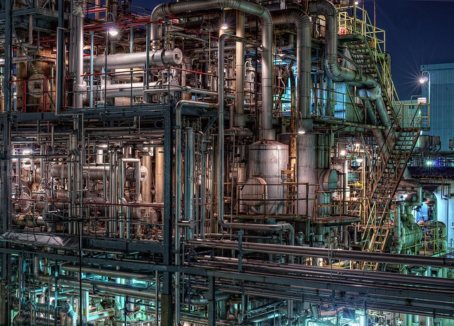 Keihin industrial complex, Japan