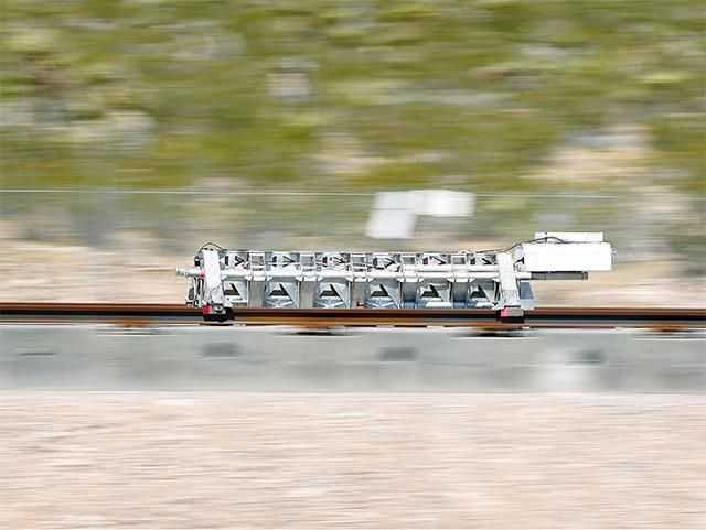 Slideshow : The future of high-speed travel is heading to India - Hyperloop One: The rocket pod that can carry people, cargo at 700 mph - The Economic Times