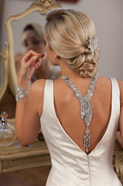 ❥ Back Necklace