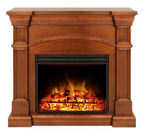 Electric Fireplace Insert Menards: Muskoka® Oberon Electric Fireplace At Menards