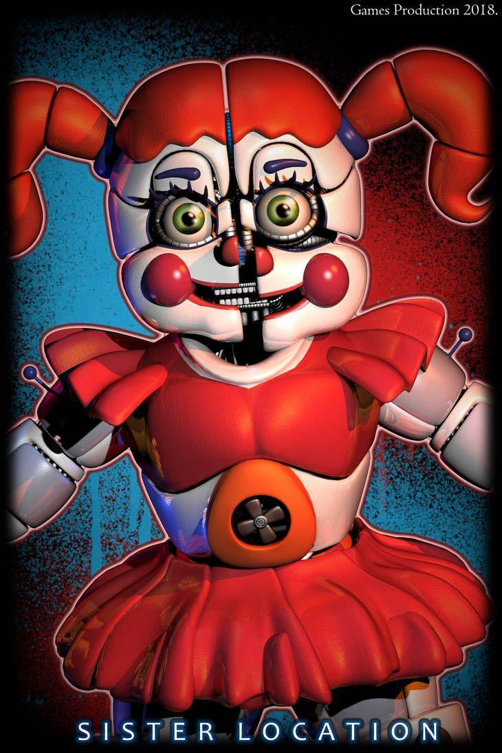Five Nights At Freddy S Circus Baby Wallpaper Hello Fnaf Baby Fnaf Drawings Fnaf Wallpapers