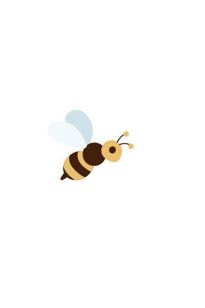 Bee Vector Image #kids #vectorimage #baby #character #bee http://www.vectorvice.com/kids-baby-vector