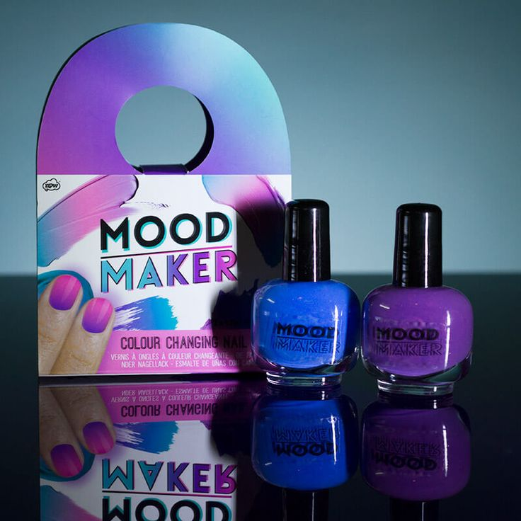 Mood Maker: Colour Changing Nail Polish - The Clothes Maiden