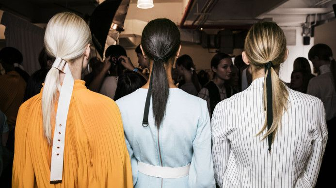 Living Aveda Blog | NYFW How-to: The Couture Pony - Living Aveda Blog
