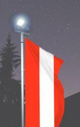 Haben Sie´s auch gemerkt? Ab 20 Uhr wirds nun schon dunkel - schlecht für Ihre Firmenwerbung! Unbeleuchtete Fahnen sind so für Ihre Kunden kaum mehr sichtbar und schon gar nicht lesbar! Die Lösung: Beleuchtete Fahnenmasten für Rund-um-die-Uhr-Werbewirksamkeit! Gibt´s natürlich bei AWAG unter http://www.awag.de/Fah…/Beleuchtete-Fahnenmasten---12_3.html