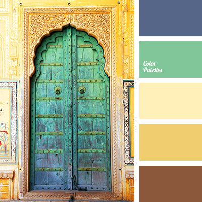 A warm palette to create interiors in the Moroccan style. Exotics of an African country will be reflected in beige, sand-colored walls, while bright accent.