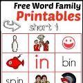 Linked to: www.themeasuredmom.com/free-word-family-printables-7-read-n-stick-mats-short/