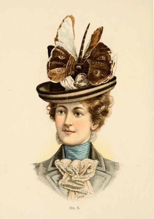 moda en sombreros 1899-1900
