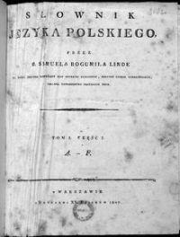 Słownik języka polskiego. T. 1, cz. 1: A-F