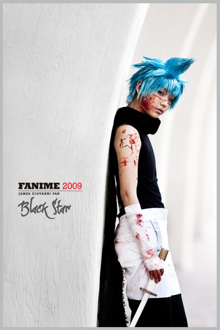 Black Star (Soul Eater) Cosplay. This is AMAZING!!! I just