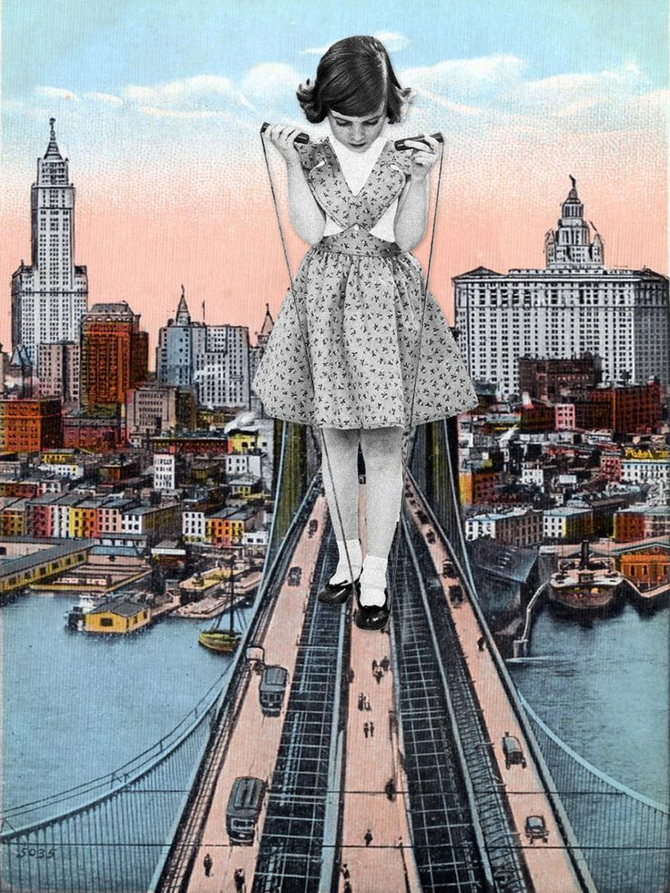 New Surreal Collages by Eugenia Loli