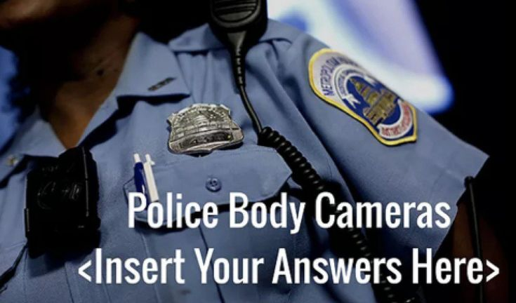 Police Body Cameras ... It's been called the Friday news dump.That is the practice of releasing news on a Friday in hopes that ...