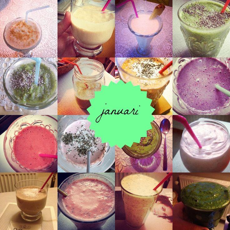 Smoothies van januari « De Groene Meisjes