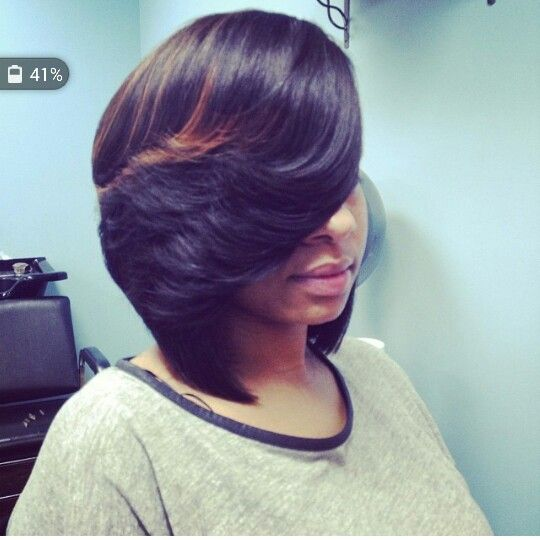 Feathered bob | Hairstyles | Pinterest