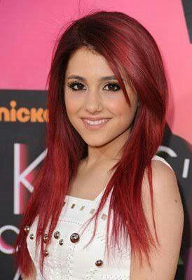 Risultati immagini per Ariana Grande ruiva