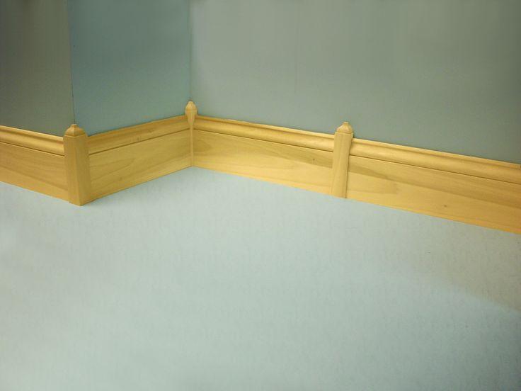 Baseboard Corner Blocks Floor Pinterest Baseboard