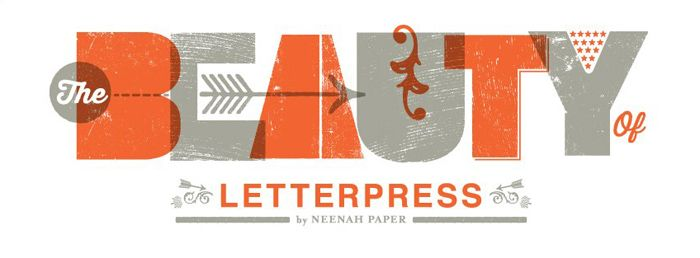 Poppytalk: Beauty of Letterpress