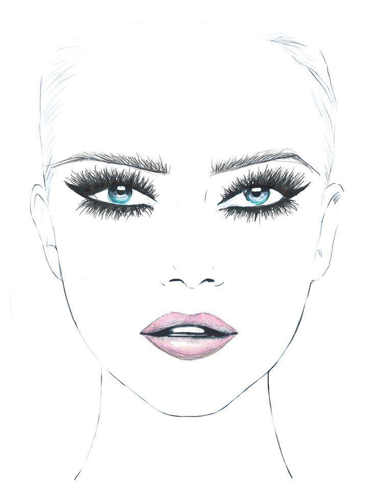 Resultado De Imagen Para Eye Makeup Drawing Images