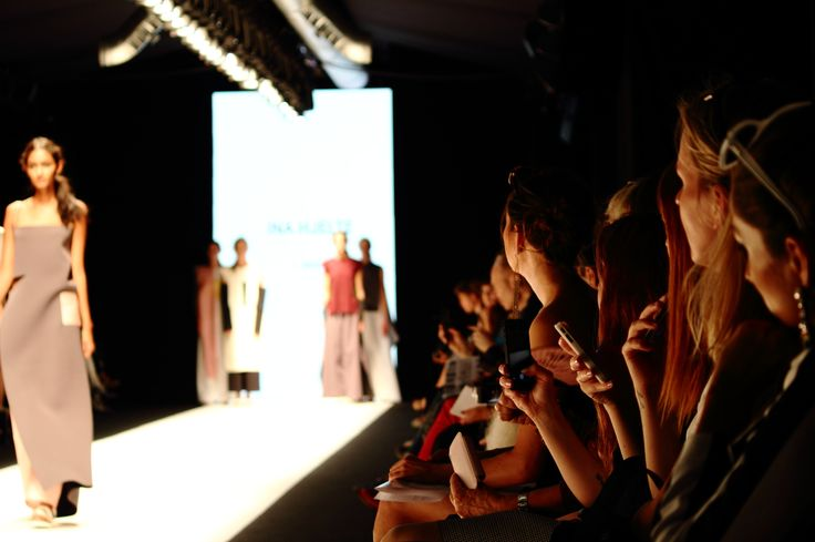 Stockholm Fashion Week Spring/Summer 2015 - the audience. Photo: Sampo Axelsson