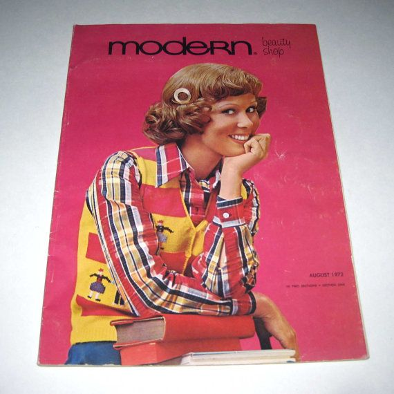 Vintage 1970s Modern Beauty Shop Hair Styling by grandmothersattic, $17.95