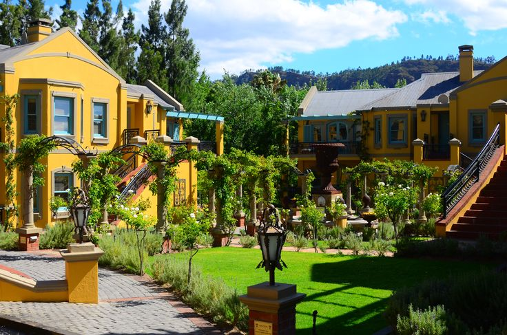 Franschhoek Country House and Villas in Franschhoek, South Africa - a 5-Star place to stay in the wine country.