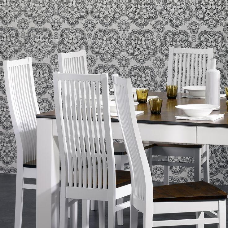 🌸🌸🌸 Malli: Merlyn Vaihtoehdot: useita pöytäkokoja sekä värivaihtoehtoja, tuoli saatavana myös verhoiltuna Jälleenmyyjä: Masku-myymälät  #pohjanmaan #pohjanmaankaluste  #koti #keittiö #kitcheninspo #kitchendecor #diningchair #diningtable