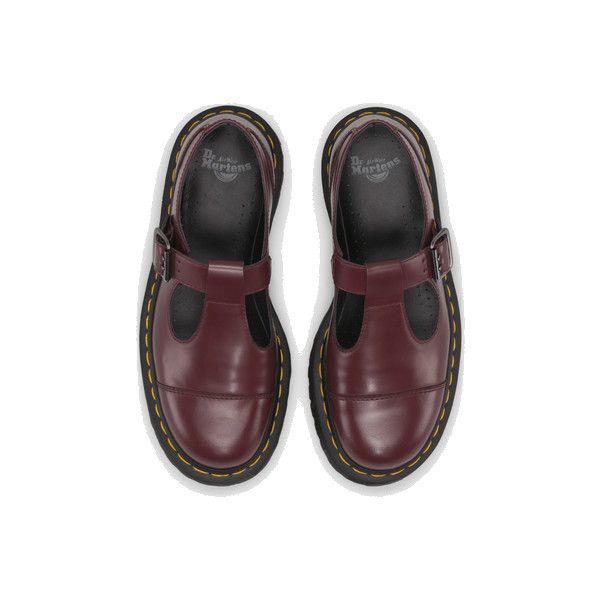 BETHAN | Womens Shoes | Womens | The Official Dr Martens Store - UK ❤ liked on Polyvore featuring shoes, flats, flat shoes, dr martens shoes, polish shoes, flat heel shoes and dr.martens flats