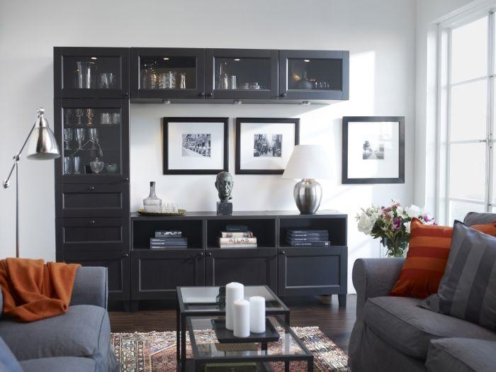 Tu sala es para mostrar qui n eres define tu estilo - Mesas para tv ikea ...