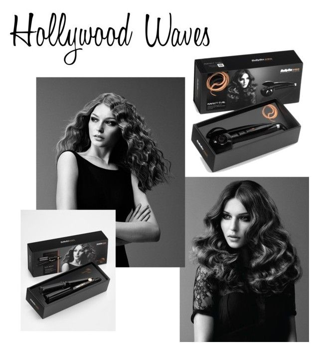 """Hollywood Waves by Babyliss PRO"" by doubleblonded on Polyvore featuring beauty and BaByliss Pro"