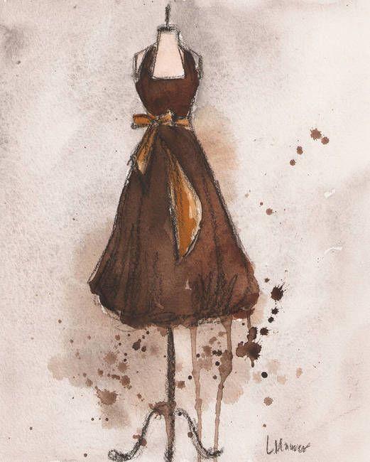 Autumn's Gold Dress
