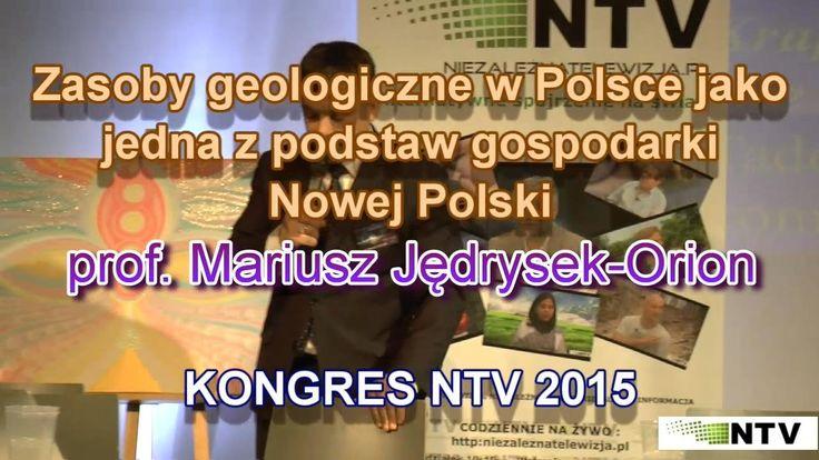 Zasoby geologiczne w Polsce - prof. Mariusz Jędrysek-Orion - 21.10.2015