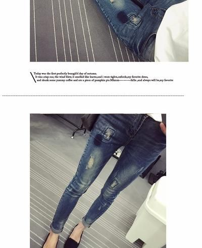 78c833bd1f371 Elastic Waist Hole Stretch Denim Maternity Belly Jeans Autumn Spring P -  sheheonline