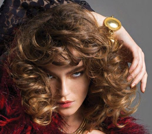 FASHION Magazine Poland december 2016 issue photo Yuma Migliaccio style Leonardo Persico makeup & hair Elisa Rampi model Lisa Louis, curly hair